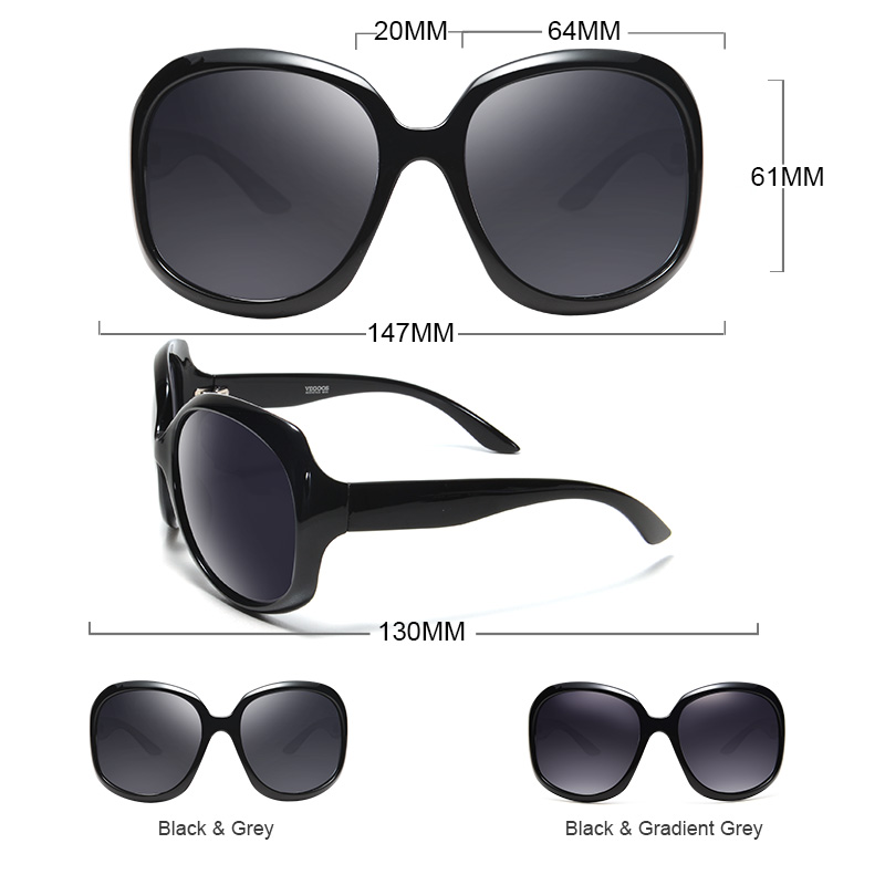 UV Protection Sunglasses Womens Designer Fashion Oval Shades