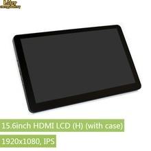 15,6 дюймов ips 1920x1080 Емкостный сенсорный ЖК-экран с закаленным стеклянным покрытием HDMI дисплей для Raspberry Pi BB Черный