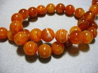 Nice Bead Orange Agat red carelines beads For Jewelry Making Free shipping
