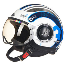 MOMO Style Chopper Pilot Motorcycle helmet Capacetes Motociclismo 218c Cascos Para Moto Casque Motorhelm Open Face Helmets