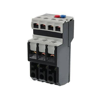 3P 3 Pole Electric Thermal Overload Relay 0.4 - 0.63A 1 NO 1 NC 3 pole ac 0 63a 1a electric thermal overload relay 1 no 1 nc
