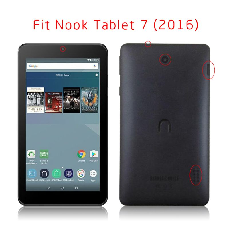 competitive price 25f02 71d96 US $12.9 |For Nook Tablet 7 Case Ultra Slim Protective Cover For Barnes &  Noble Ebook Reader For Nook Tablet7 Skin Good Quality-in Tablets & e-Books  ...