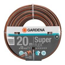Шланг поливочный GARDENA 18093-20.000.00 (Длина 20 м, диаметр 13мм (1/2), максимальное давление 35 бар, армированный, светонепроницаем, устойчив к ультрафиолетовому излучению)
