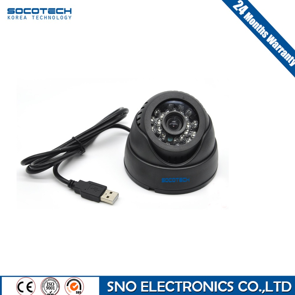 SOCOTECH Security USB Tf Card Dome IR CCTV Camera Video Night Vision Auto Car Driving Recorder Recording DVR Waterproof Camera