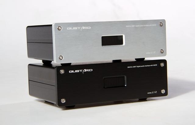 U12 Gustard XMOS Digital Inferface Solução Independente De Potência Linear Saída AES/EBU/Coaxial/HDMI 0.1PPM 32Bit/384 KHz AC115/230 V
