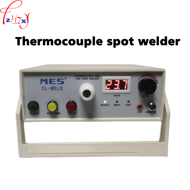 90 265V TL WELD Thermocouple Spot Welder Rechargeable Thermocouple Wire Welding Machine With Argon Contact Function