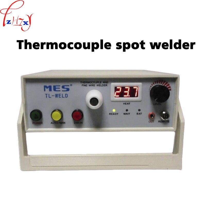 90-265 V TL-WELD Termopar Termopar De Fio Máquina de Soldadura Com Argônio Local Soldador Recarregável Função de Contato 1 PC