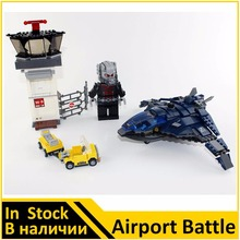 Building Blocks Model 07034 Compatible with Super Heroes Avangers Airport Battle 76051 Model Educational Toys For Children