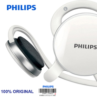 Philips SHM6110U Wire Control Headset With 3 5mm Plug Microphone Bass Headphone For Music Phone Official