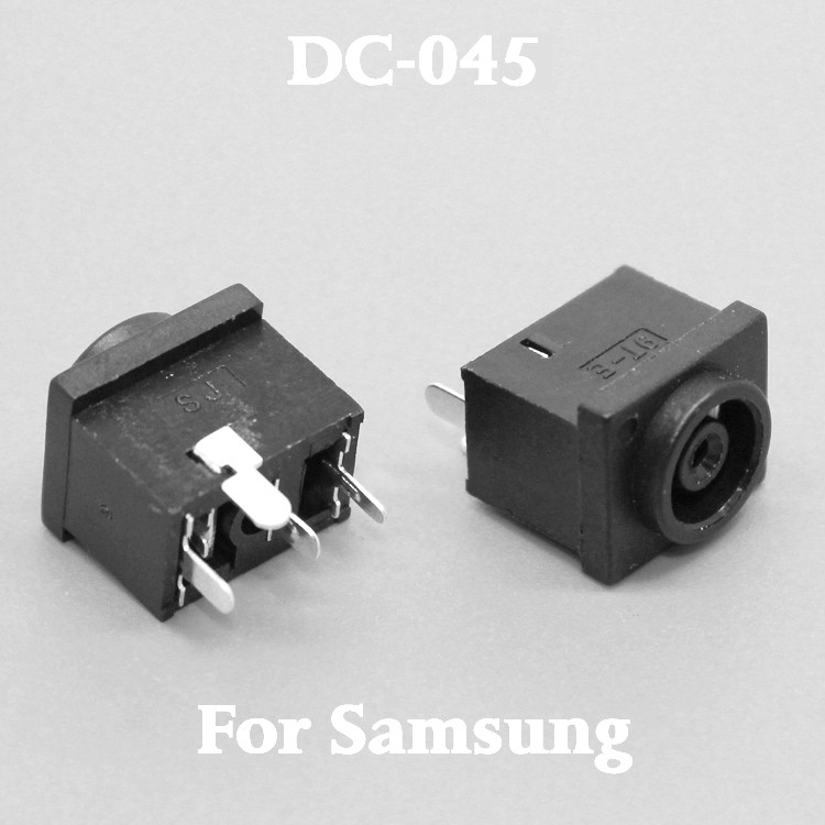 By DHL EMS DC Power Jack Connector for Samsung S24A300H S24A350H S19A330BW S22A330BW SA550 SA200 SA450 SA300 SA330 SA350 DC Jack ariston abs vls qh 50