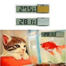 Multi-Functional LCD 3D Digital Electronic Temperature Measurement Fish Tank Temp Meter Aquarium Thermometer LFD цены