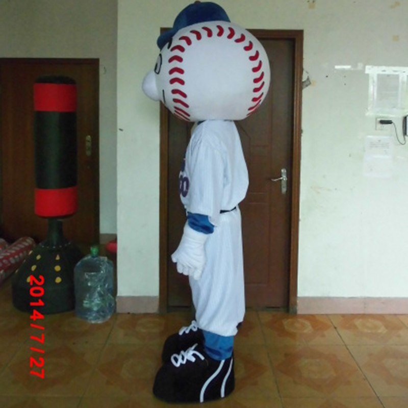 Image 2 - hot sale mr met mascot costume new cartoon boy costumes baseball mascot costumes-in Mascot from Novelty & Special Use
