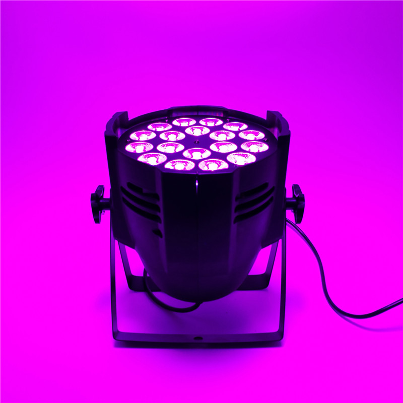 LED Can Par 18x18w Light Casting Aluminum Stage Par RGBWA+UV 6in1 Wash Lights Business Lights Professional for Party KTV flower girl dress sequin mesh party wedding princess tulle blue 2017 summer dresses children clothes size 2 8 pageant sundress