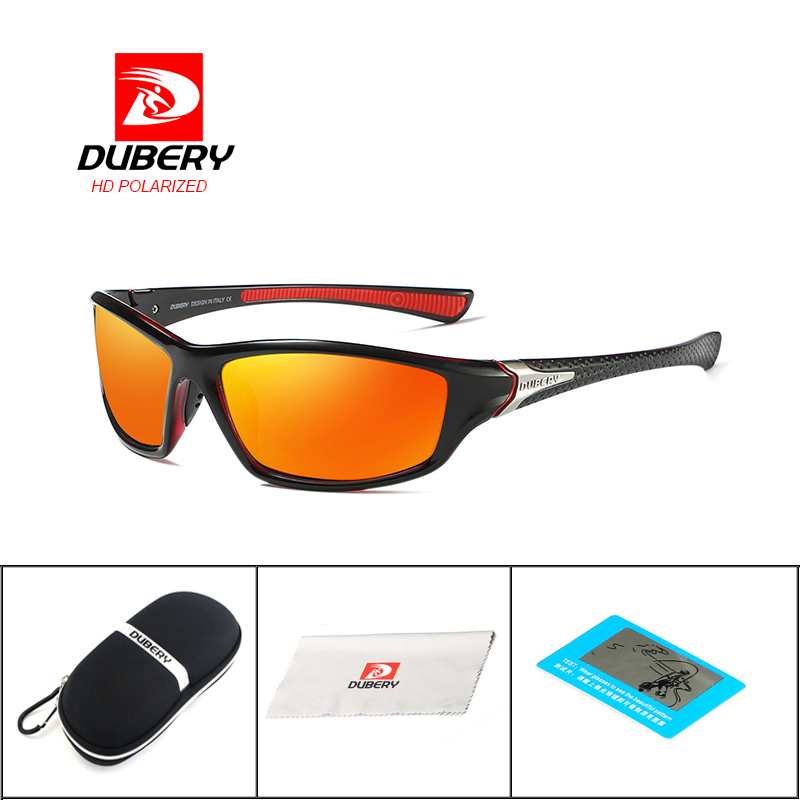 6f4b9e9455 DUBERY Drive Outdoor Travel Polarized Sunglasses Brand Design Night Vision  Sunglasses Men s Retro Male Sun Glasses Goggles in Pakistan