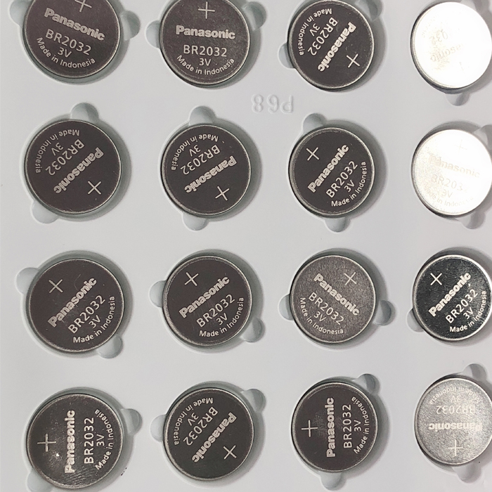 20pcs/lot New Original <font><b>Panasonic</b></font> 3V BR2032 Battery BR <font><b>2032</b></font> High temperature Button Coin Cell Battery Batteries image
