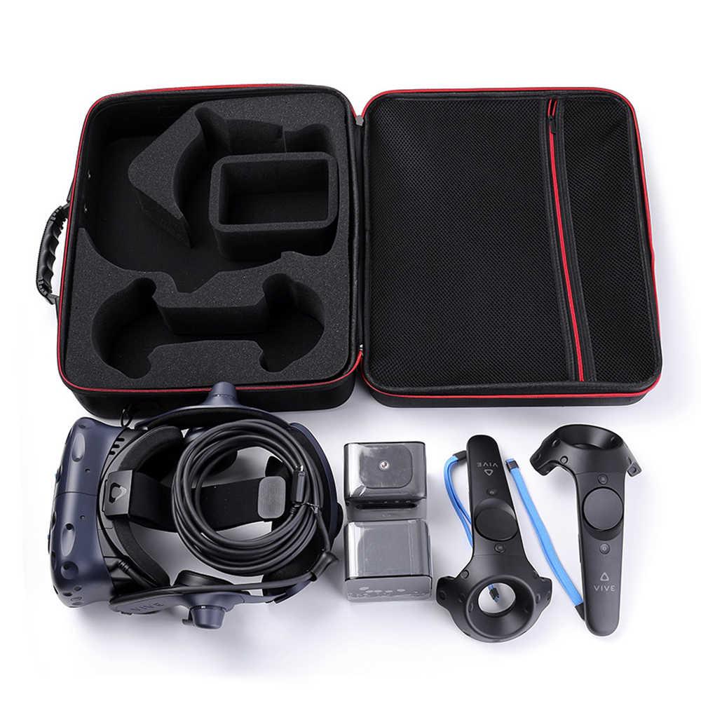 La más nueva funda protectora de EVA para casco de realidad Virtual HTC VIVE Pro-funda protectora de viaje para transporte