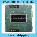 Core i7 2860QM 2.5 ГГц 8 м четырехъядерный процессор восемь темы SR02X 2860 ноутбук процессоры ноутбук процессора PGA 988 контакт. гнездо G2