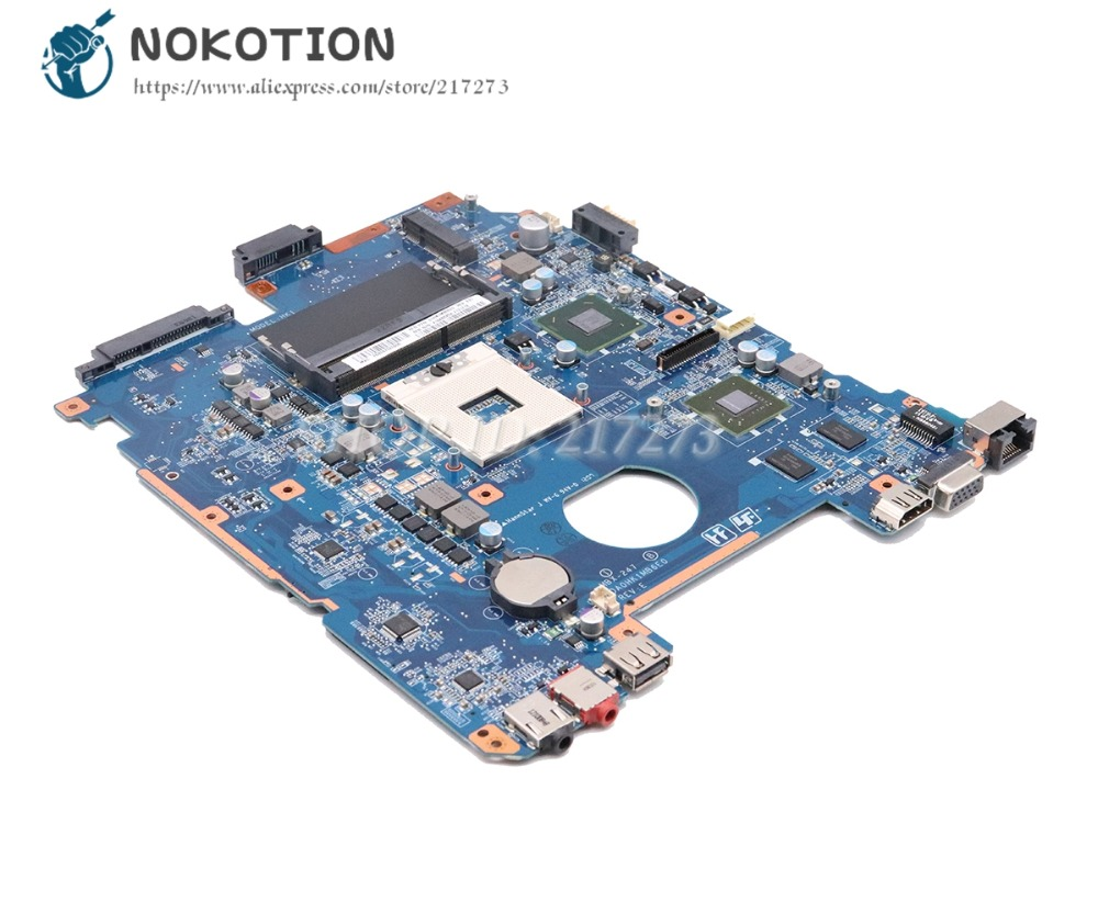 NOKOTION For Sony Vaio PCG-71912L Laptop Motherboard DA0HK1MB6E0 A1848625A MBX-247 MAIN BOARD HM65 DDR3 GT410M Video card цена