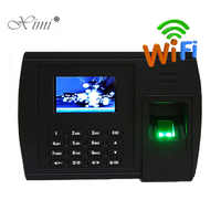 Biometric Fingerprint Time Attendance With 125KHZ RFID Card Reader XM228 WIFI TCP/IP Web Time Clock Recorder With Free Software