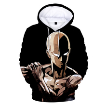 The latest anime One Punch Man Season 2 Hip Hop 3D hooded sweatshirt men and women printed mens casual