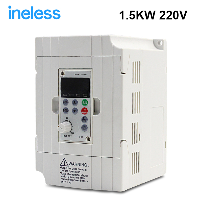 380v 1.5kw VFD Variable Frequency Drive VFD Inverter 3HP 380v Input 3HP for spindle motor speed control 2017 direct selling limited inverter grid tie 3kw 220v ac variable frequency drive vfd inverter for 3 0kw spindle 3000w