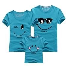 Cotton Family Matching T Shirts