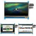 Rev2.1 Оригинальный 7 Дюймов HDMI ЖК-Экран Модуль емкостный сенсорный для Малина Дисплей Ultra Clear Для Малиновый Пирог 1024X600