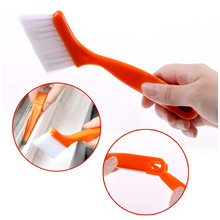 2-in-1 multipurpose window groove cleaning brush keyboard nook cranny dust shovel / window track cleaning brushes
