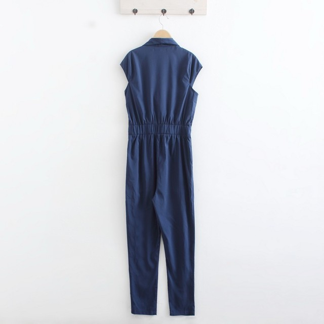 XXXL XXL Plus Size Chiffon Sexy Jumpsuit Women's Overalls V-neck OL Office Style Summer Ladies Jumpsuits For Women Clothes
