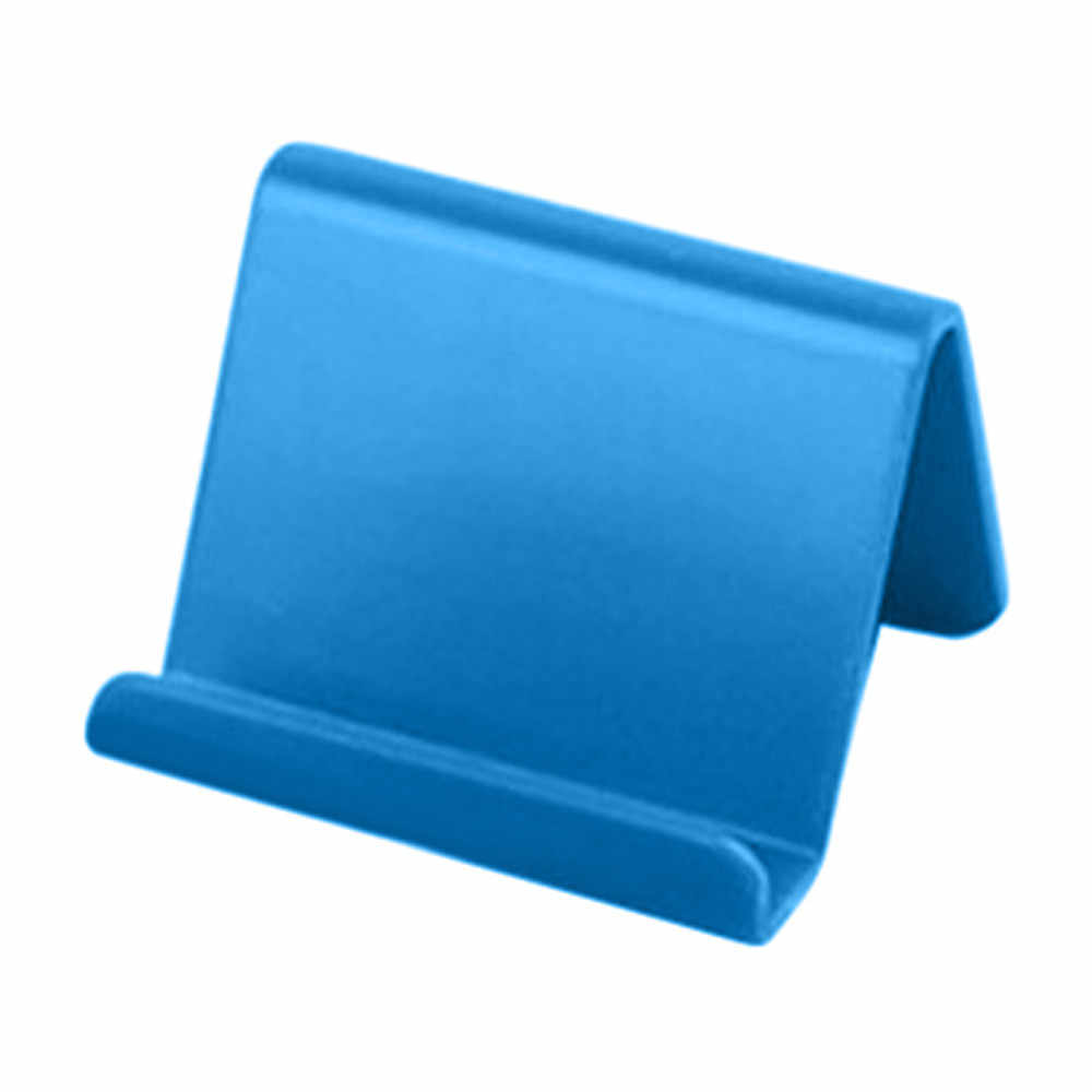 Universal, soporte para teléfono móvil de plástico de escritorio Mini soporte de teléfono Base portátil móvil teléfono soporte para teléfono inteligente 4 colores # YJ