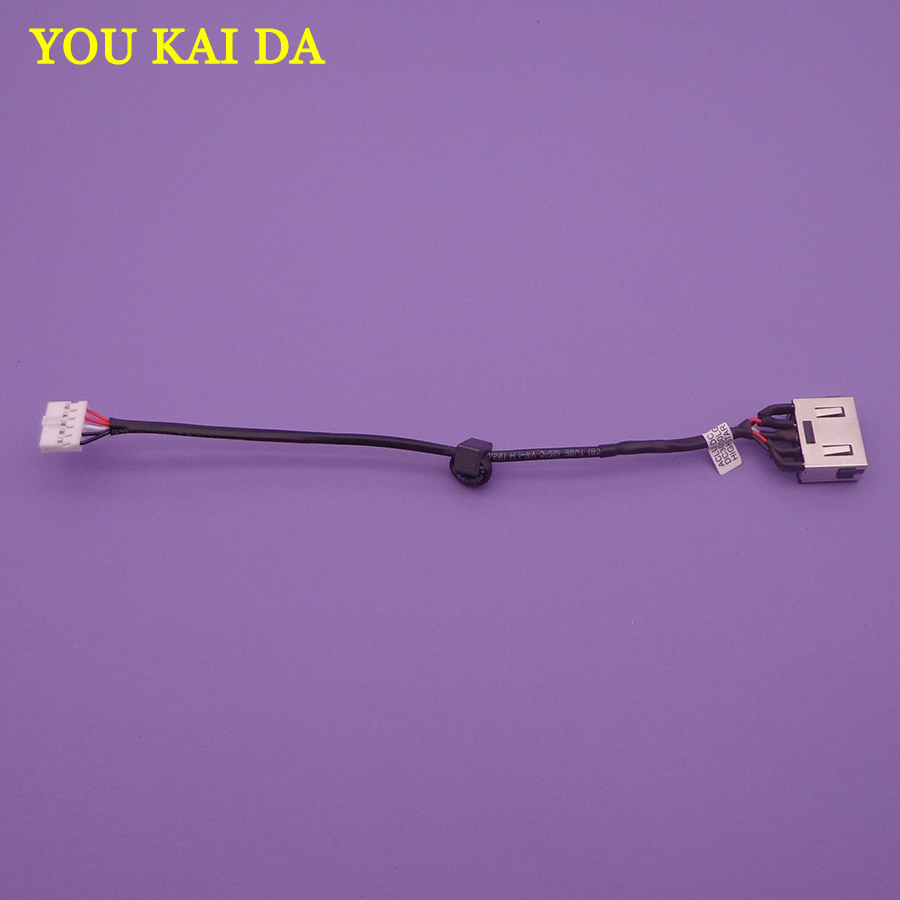 10pcs New FOR <font><b>Lenovo</b></font> G50 G50-30/40/45/<font><b>50</b></font>/<font><b>70</b></font>/80 M50 Z50 DC jack DC in cable 15CM long Free Shipping DC30100LD00 DC30100LG00 image