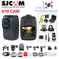 New !SJCAM A10 Wearable Bodycam Cam Portable Camera Infrared Security Camera IR Cut Night Vision Laser Positioning Action Camera