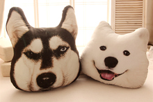 Fancytrader 2015 New Kawaii Cute High Quality Toy Plush Stuffed Husky or Samoyed Hug Pillow Free Shipping FT90453