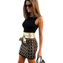 Summer  Women Dress Bodycon O-Neck Sleeveless Casual Dress Short Mini Dress Female Vestidos