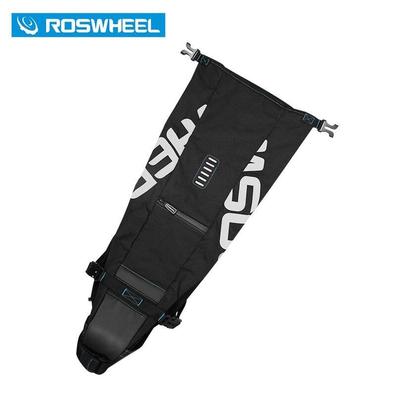 ROSWHEEL 2017 NEW Yüksək tutumlu 8L 10L MTB Velosiped Çantası - Velosiped sürün - Fotoqrafiya 5