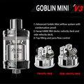100% Original UD Goblin Mini V3 RTA 4ml Tank Vaporizer Atomizer UD Electronic Hookah Vape Clearomizer