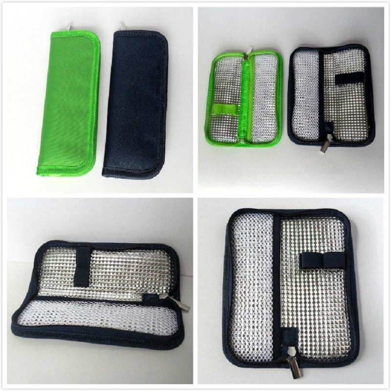 Protector Cooler Refrigerated Insulation-Organizer Travel-Case Ice-Pack Medical Diabetic