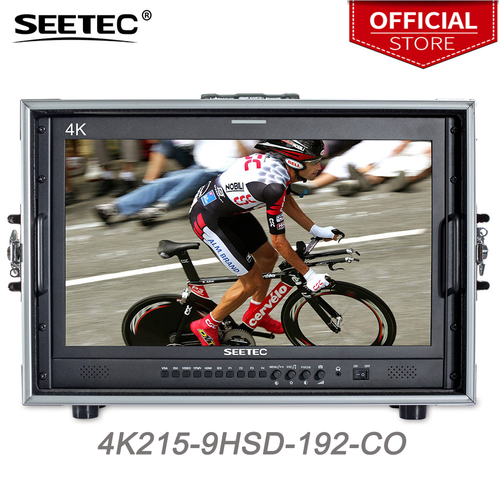 Seetec 4K215-9HSD-192-CO 21.5 Inch IPS FHD Broadcast Monitor 3G-SDI 4K HDMI Carry-on LCD Monitor for Director CCTV Monitoring цены