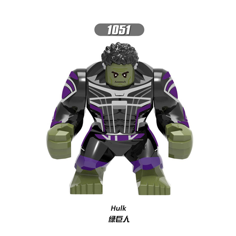 New Marvel Superhero Lego Fit Hulk Figure Avengers Endgame Building Block XH1054