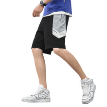 MJARTORIA 2019 Summer Men ShortsCasual Loose Knee Length Pants Comfortable Sports Running Beach Pants Brand Simple Male Shorts