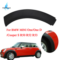 WISENGEAR Front Wheel Arch Trim Cover Car Fender Flare Wheel Extension For MINI One / One D / Cooper S R50 R52 R53 2002 2008 /