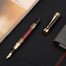 1pcs High quality classical fountain pen wood grain high-gra