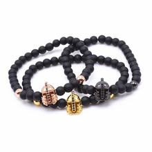 Imperial Crown Charm Bracelet