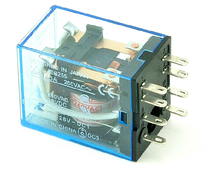 8Pin The relay   MY2N-J 220/240VAC   Relay   New and original The general power relay 3 lens 36 patterns rg blue mini led stage laser lighting professinal dj light red gree blue