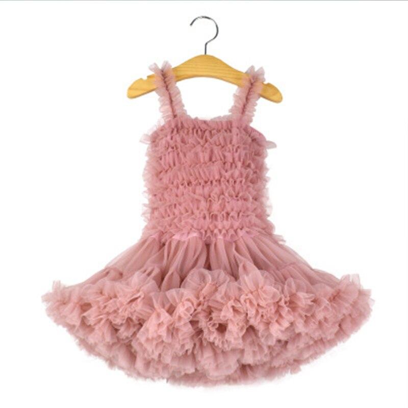 Jolie robe sans manches bébé fille 9 couleurs mode infantile princesse fête de noël Tutu robe pour enfants vêtements Costume