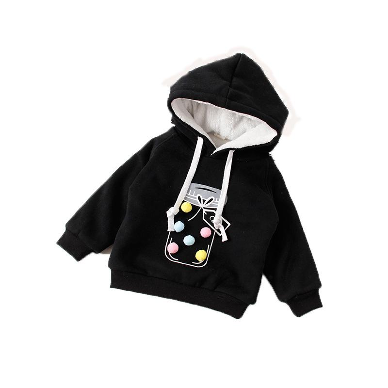 e0b2319c4 V-TREE plus velvet winter children jackets cartoon girls hoodies ...