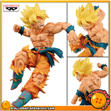 Japan Anime Dragon Ball Z Original Banpresto MATCH MAKERS vol.1 Collection Figure - SUPER SAIYAN SON GOKOU Goku japan anime dragonball dragon ball z original megahouse desktop real mccoy complete toy figure son goku 01 repaint no 02