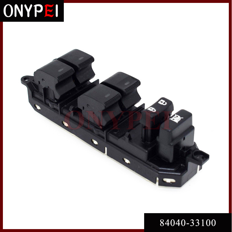 Master Power Window Switch 84040 33100 For Toyota Camry Prius Land Cruiser Prado 8404033100