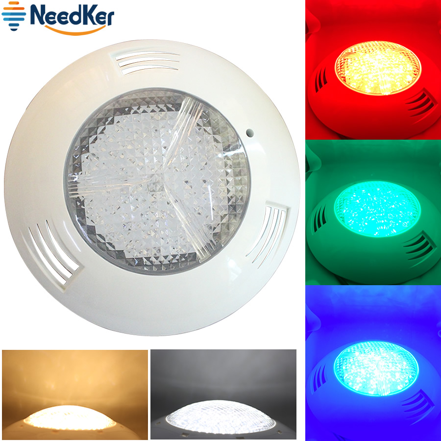 24W 36W LED Swimming Pool Light AC DC 12V Underwater Lights IP68 Waterproof Fountain Led Piscina