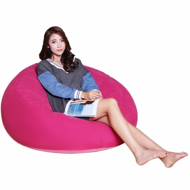 Sitzsack, Große Aufblasbare Sitz Lager 220lb Für Erwachsene Aufblasbare  Stuhl, Für Innen Schlafzimmer Möbel Amazing Pictures